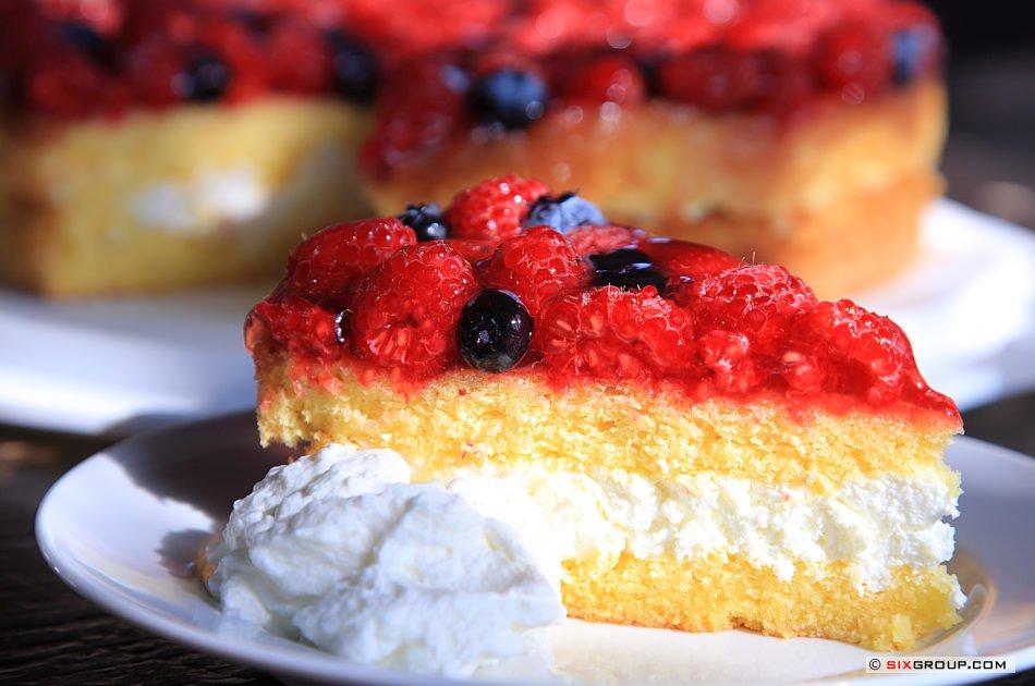 Kuchen Beeren Quark Torte Www Backecke Com Koch Und
