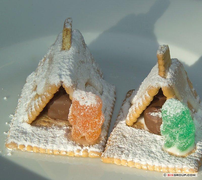 Süße Teilchen - Advents- Haus - www.backecke.com : Koch- und ...