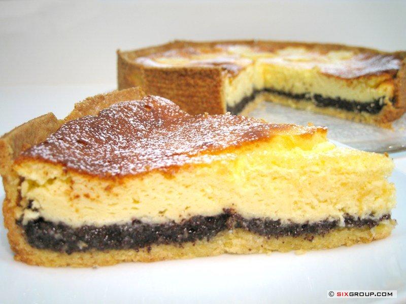 Kuchen Quarkkuchen Mit Mohn Www Backecke Com Koch Und