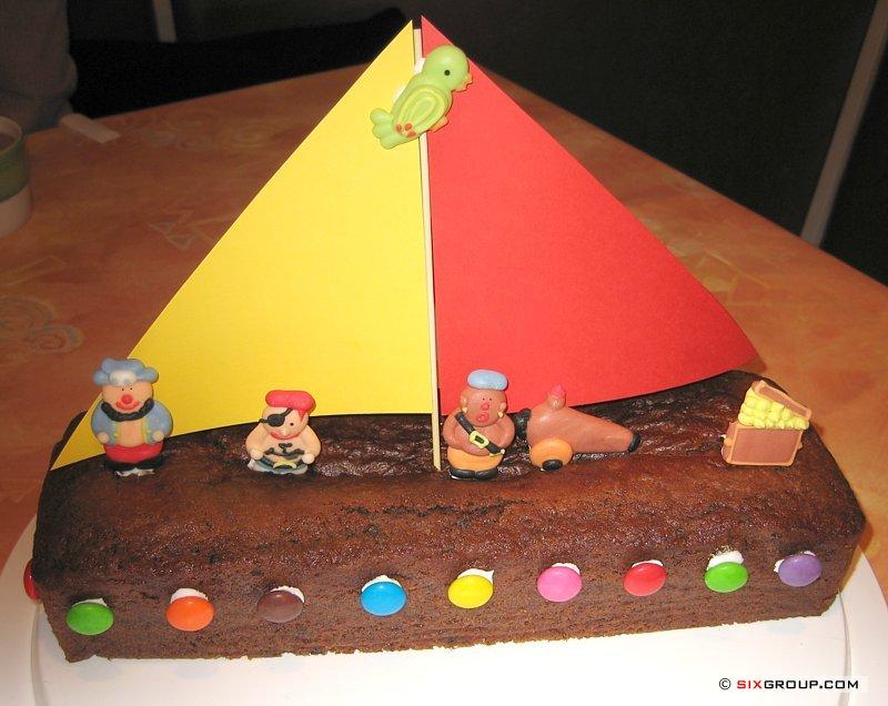 Kuchen Piratenschiff Www Backecke Com Koch Und Backrezepte