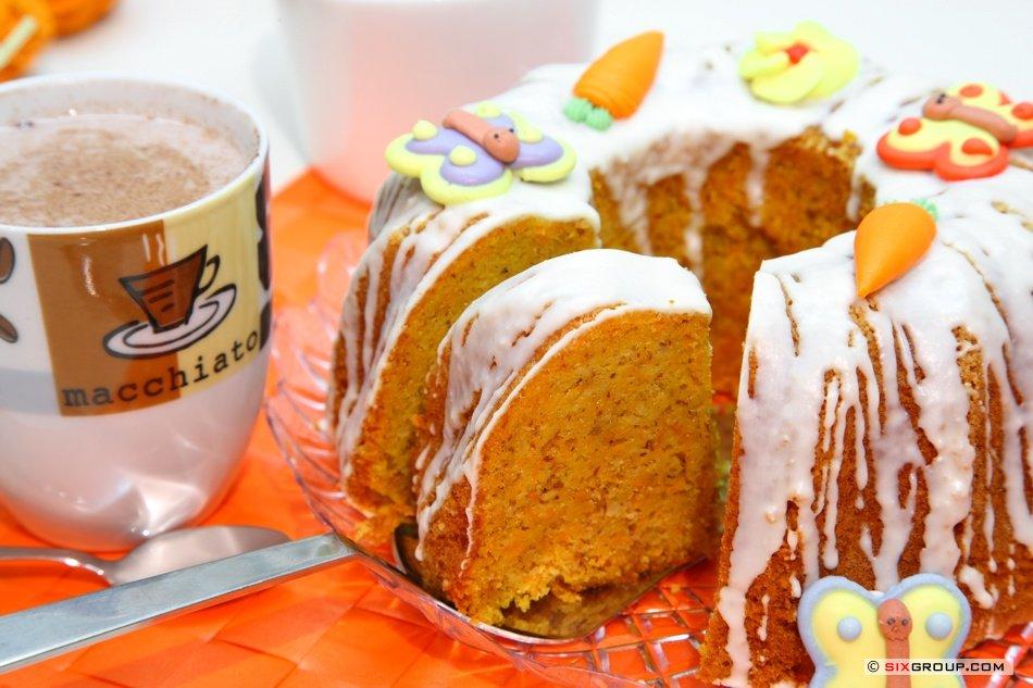 Kuchen Karotten Haselnuss Gugelhupf Www Backecke Com Koch