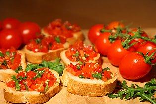 bruschetta mit tomate rezepte suchen. Black Bedroom Furniture Sets. Home Design Ideas
